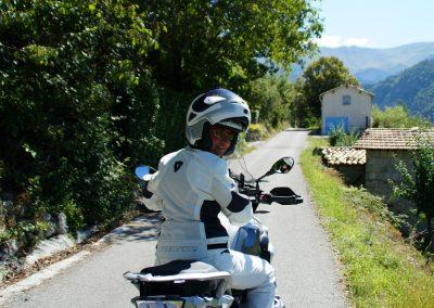 Lucia on bike web